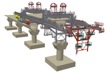 bridge deck erection gantry